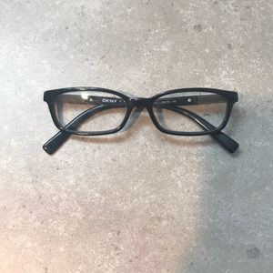 DKNY black framed glasses